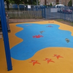Wetpour Surfacing Installers in Ellan 7