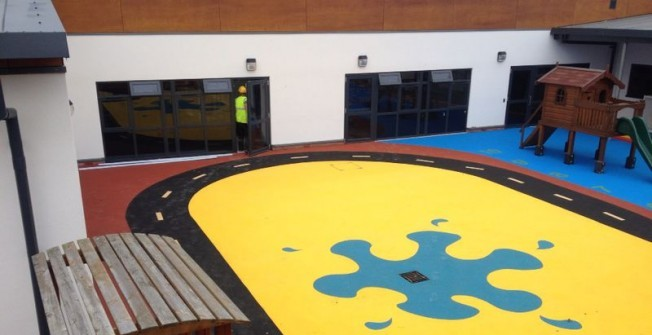 EPDM Rubber Surfacing in Staffordshire