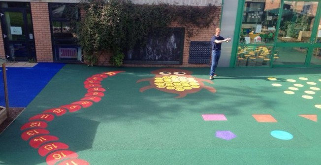 Playground Rubber Flooring in Ellan