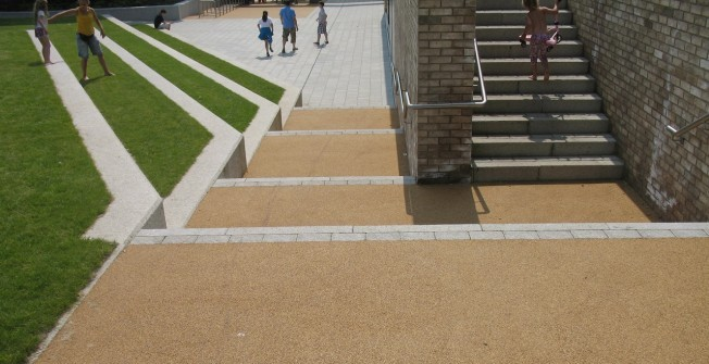 Resin Bound Surfacing  in Abbey Green